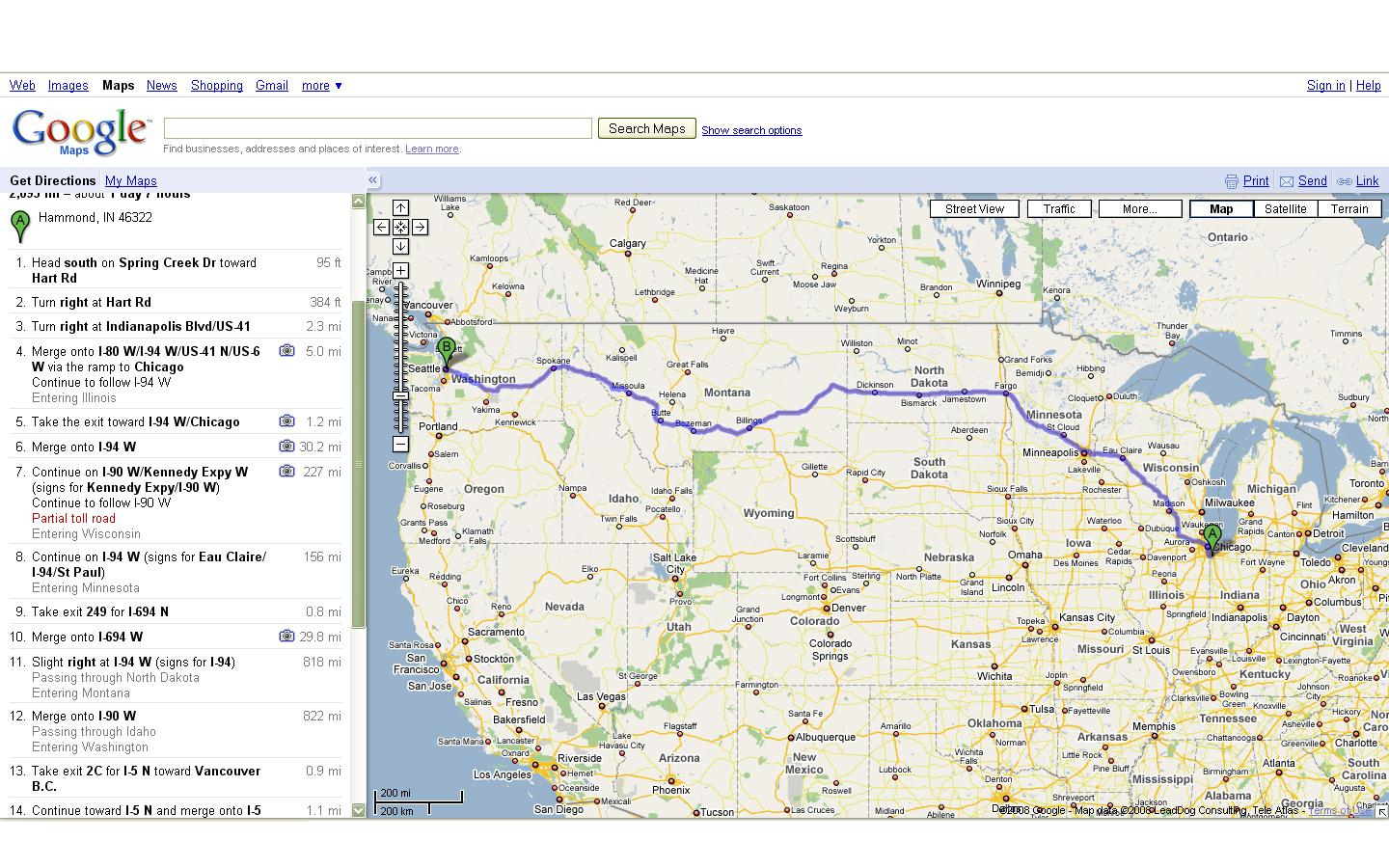 Reference Of Map With States. Mapquest Driving Directions Google - Google Maps Driving Directions Texas