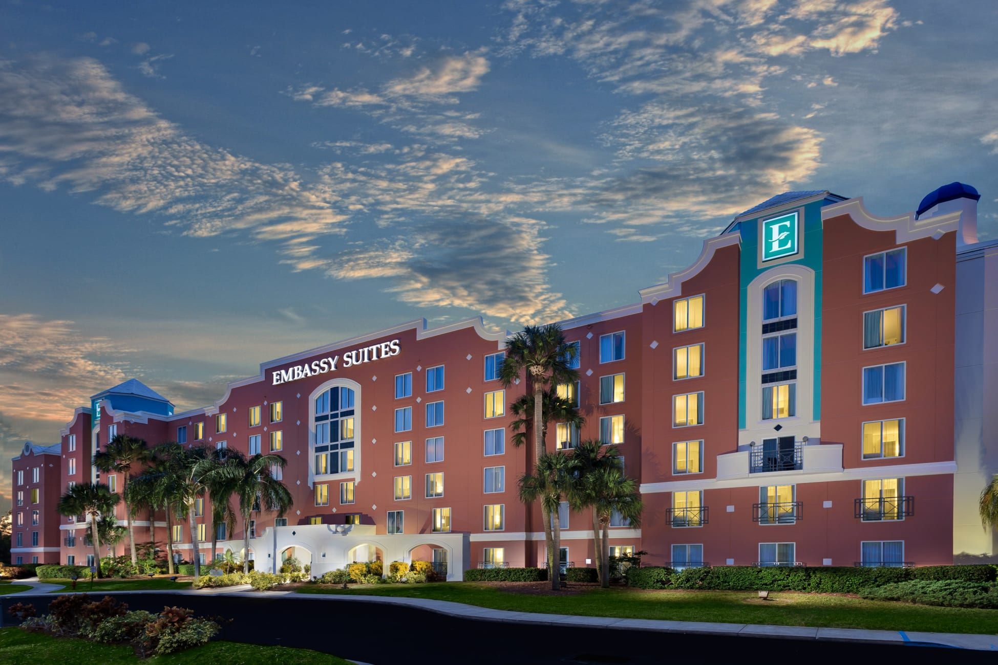 Resort Embassy Suiteshilton Orlando Lake Buena Vista Resort - Embassy Suites In Florida Map