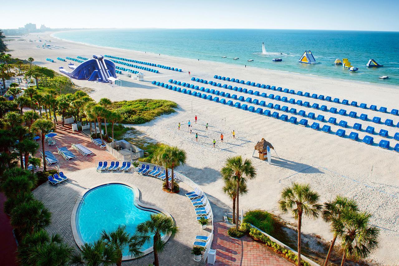 Resort Tradewinds Island Grand, St. Pete Beach, Fl - Booking - Map Of Hotels On St Pete Beach Florida