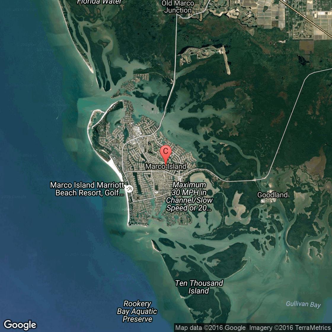 Resorts In Marco Island, Florida | Usa Today - San Marcos Island Florida Map