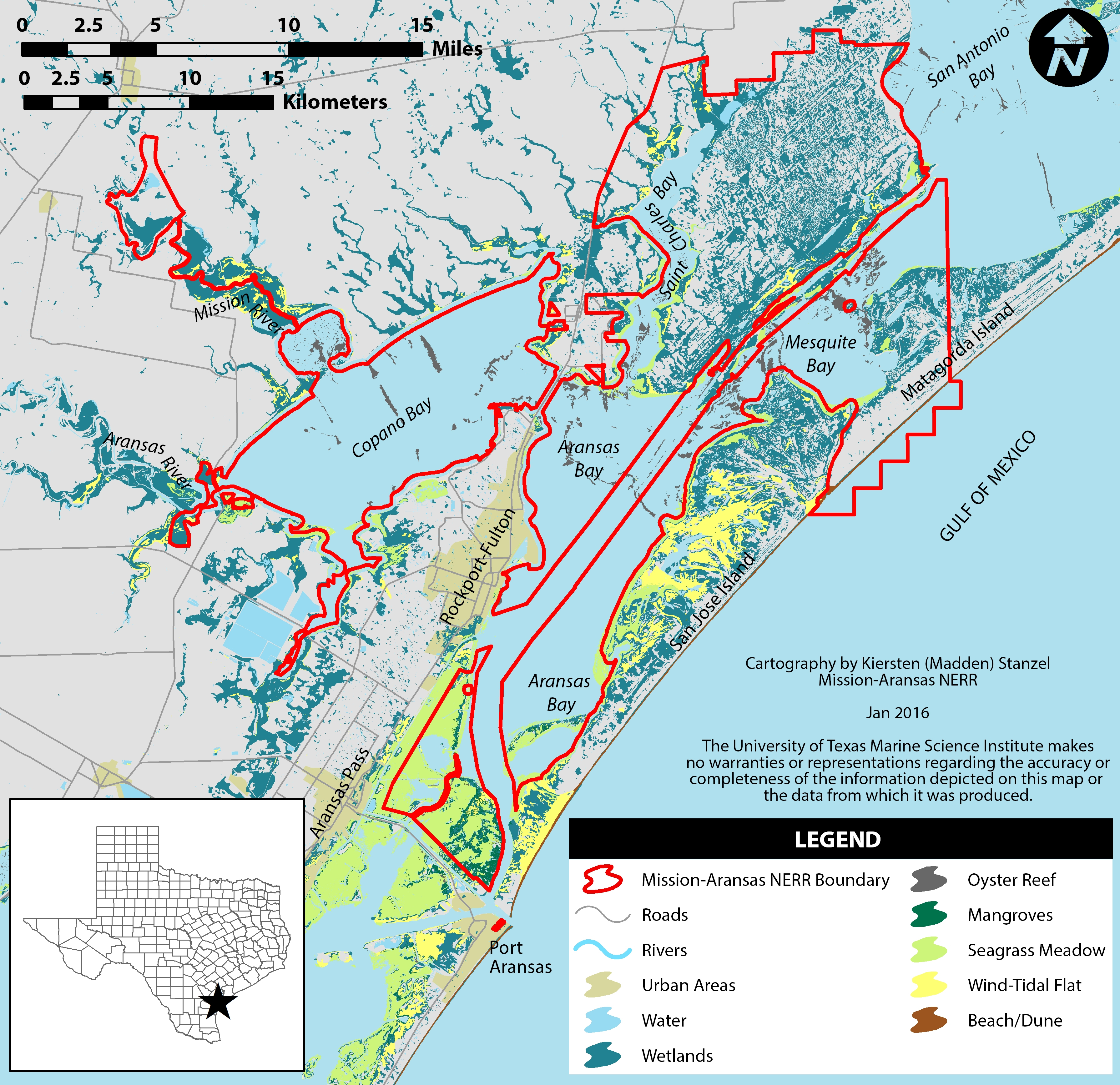 Resource Library | The Reserve - Map Of Port Aransas Texas Area
