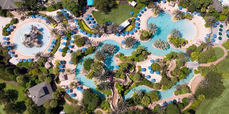 Reunion Resort | Travelzoo - Map Of Reunion Resort Florida