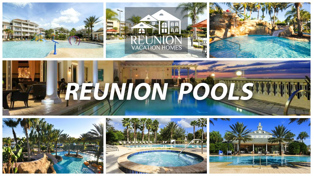 Reunion Resort Water Park And Pools - Youtube - Map Of Reunion Resort Florida