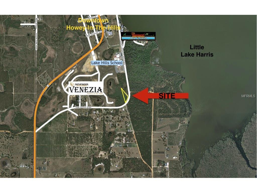 Revels Rd, Howey In The Hills, Fl 34737 - Mls T2868655 - Coldwell - Howey In The Hills Florida Map