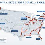 Riding The Rails   High Speed Rail Texas Route Map