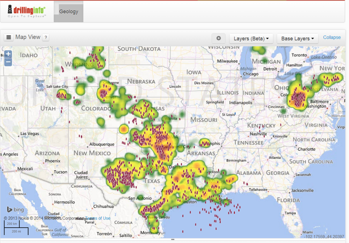 Rig Count Archives | Drillinginfo - Texas Rig Count Map