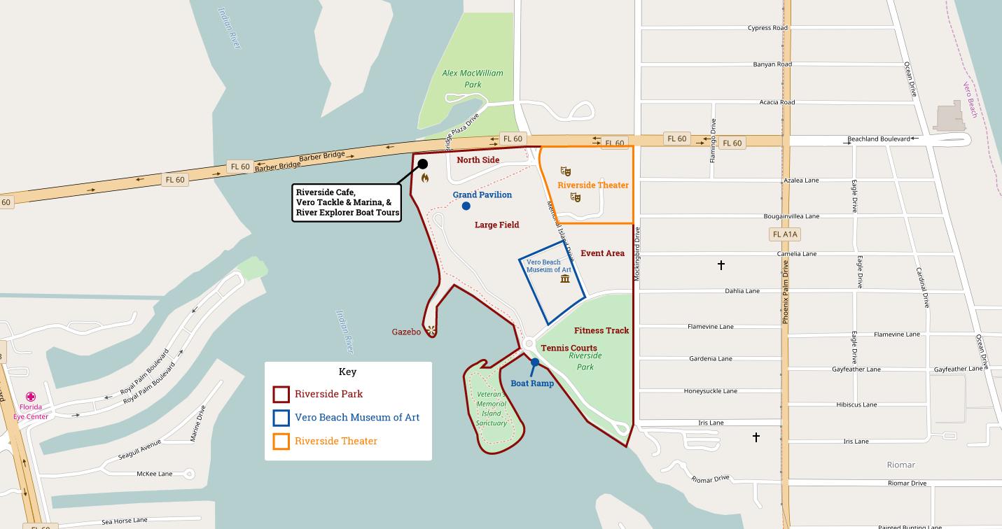 Riverside Park Vero Beach Florida | Navfile - Google Maps Vero Beach Florida