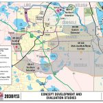 Road Maps Of Orlando And Travel Information | Download Free Road   Road Map To Orlando Florida