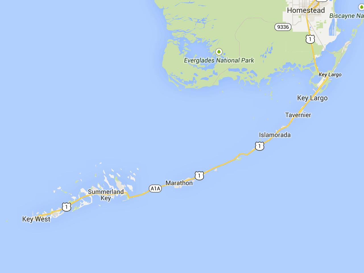 Road Trip: Florida Keys Mile-Marker Guide | Florida Rambler | Summer - Florida Keys Map With Mile Markers