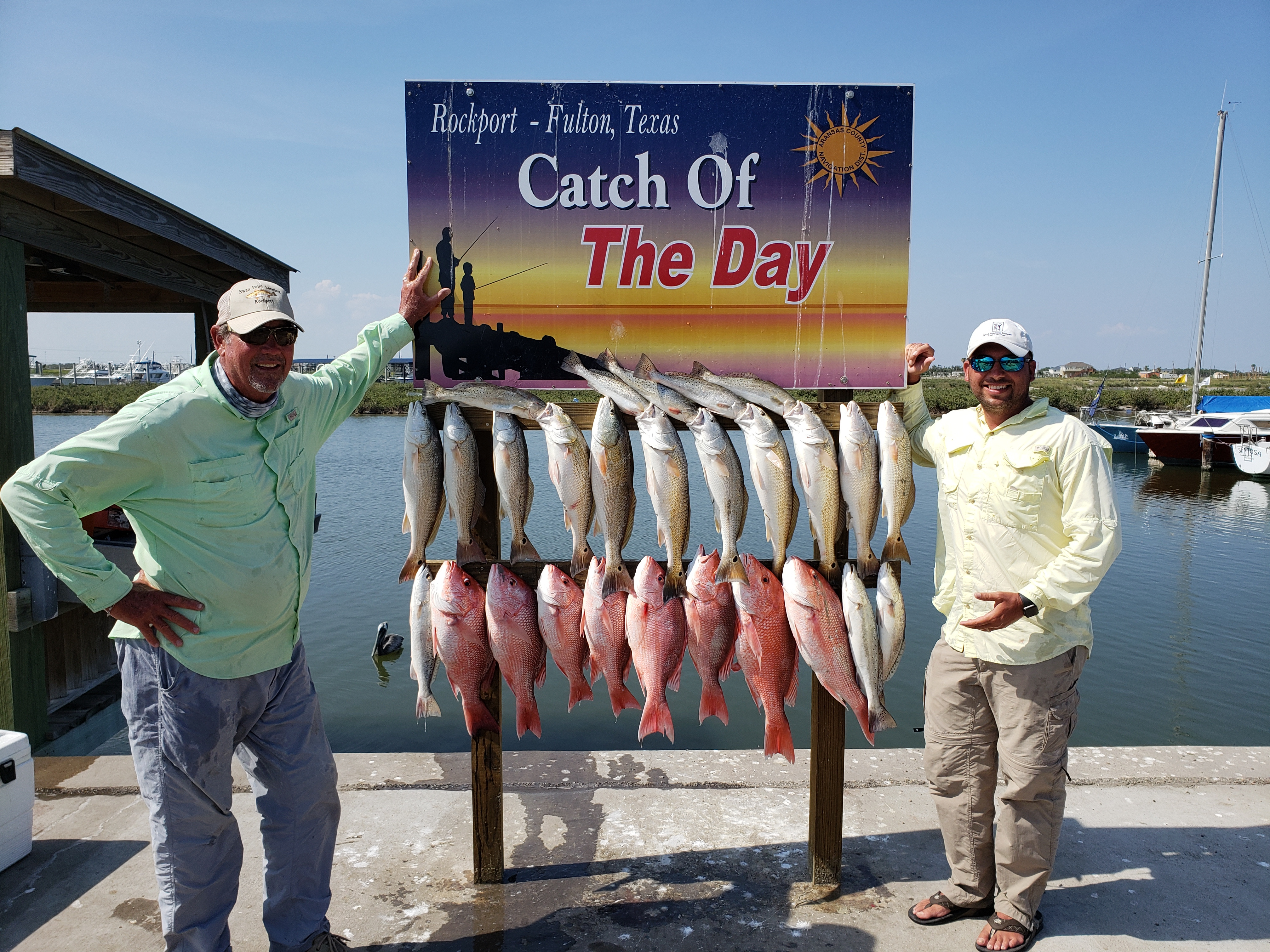 Rockport Guides, Captain Ray Burdette   Go Fishing For Trophy Trout - Rockport Texas Fishing Map