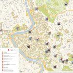 Rome Printable Tourist Map | Sygic Travel   Printable Walking Map Of Rome