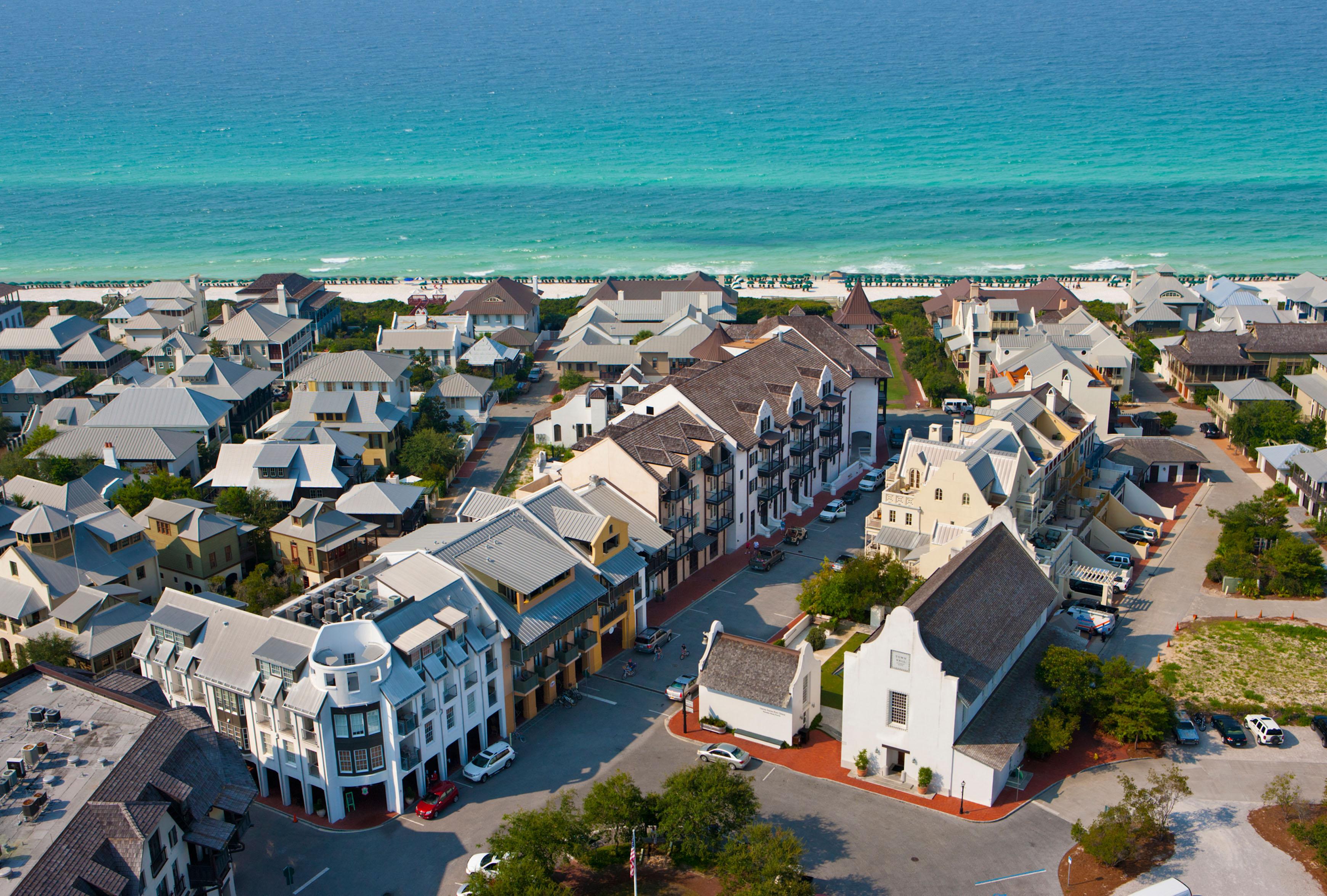 Rosemary Beach | Visit South Walton - Where Is Seagrove Beach Florida On A Map