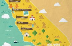 Route 1 California Road Trip Map Printable California Coast – California Attractions Map