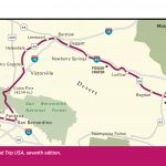 Route California Map Hd Mojave Desert California Map   Klipy   Mojave California Map