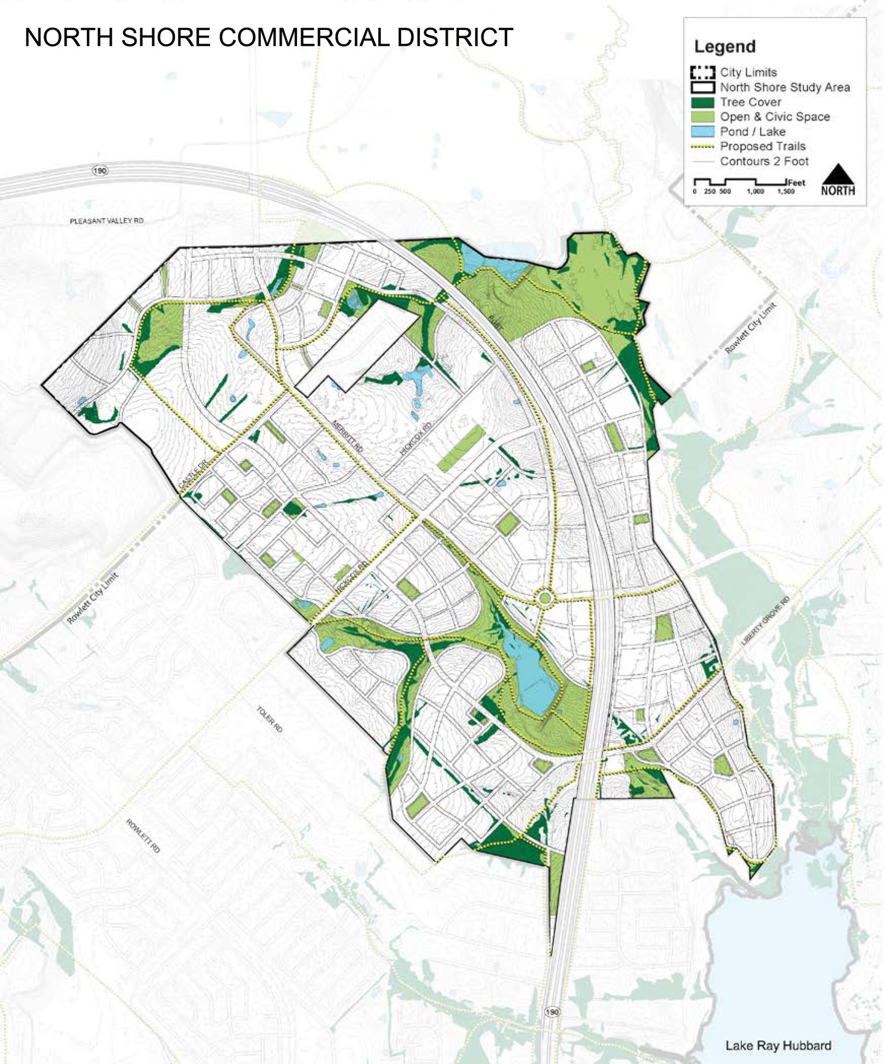 Rowlett, Tx Transportation And Maps - Rowlett Texas Map