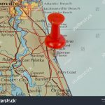 Royalty Free Summer Haven, St. Augustine, Florida In… #510173527   Map Of Crescent Beach Florida