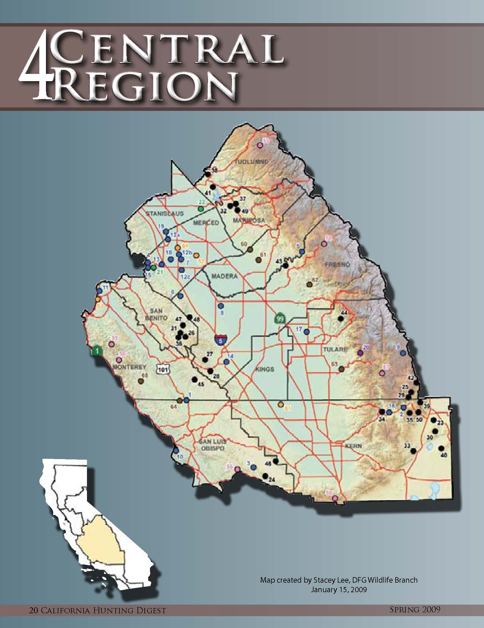 Rules For California Turkey Hunting Seasons | We've Moved To Www - Turkey Hunting California Map