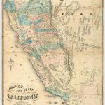 Rumsey Map O Map Of California Springs Map Of California Gold Rush   California Gold Rush Map
