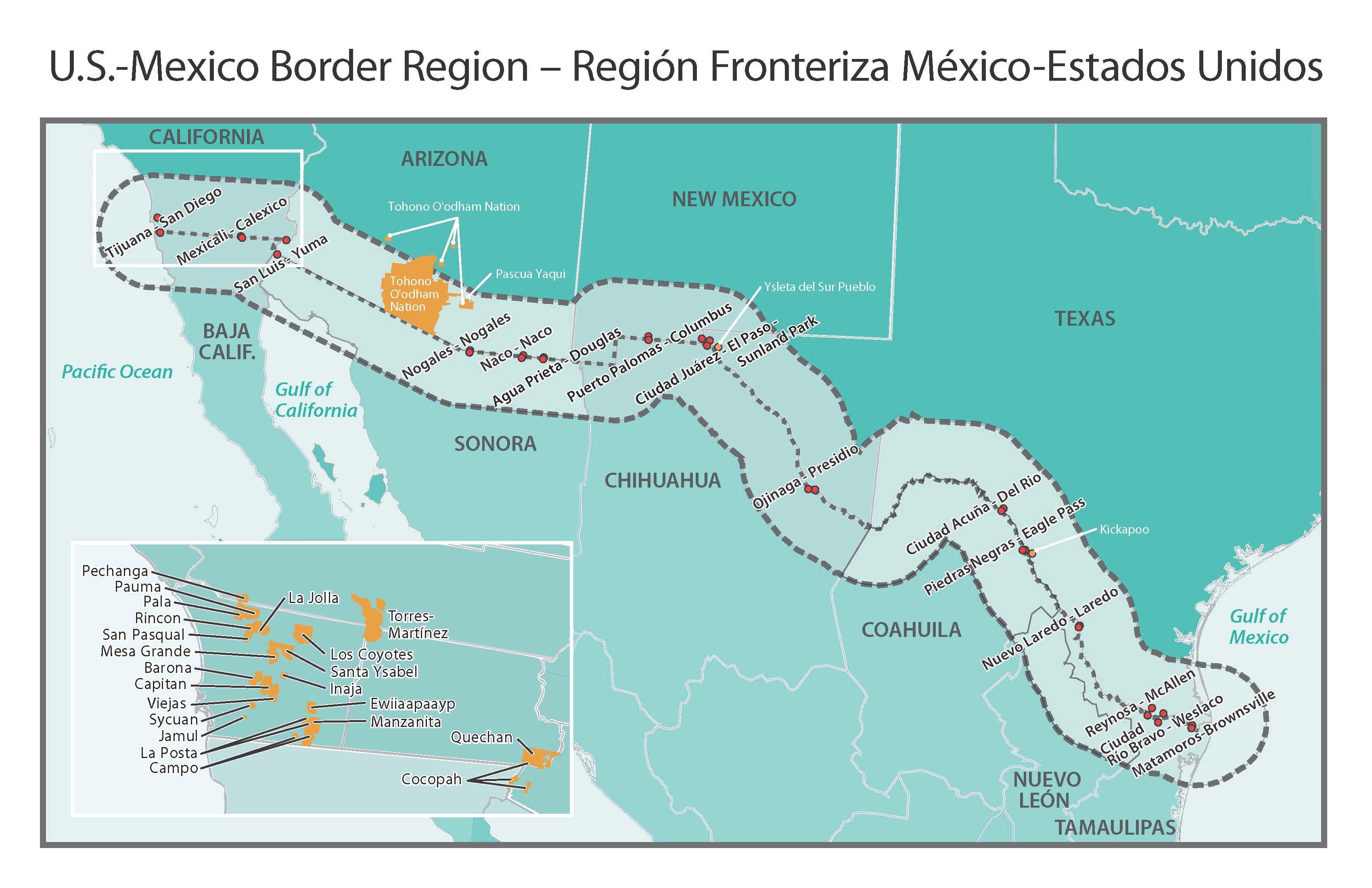 Rural Border Health Introduction - Rural Health Information Hub - Map Health Insurance Austin Texas