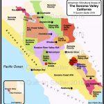 Russian River Valley California Map Printable California   Russian River California Map
