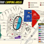 Rv General Store Infield Campground   Texas Motor Speedway Parking Map