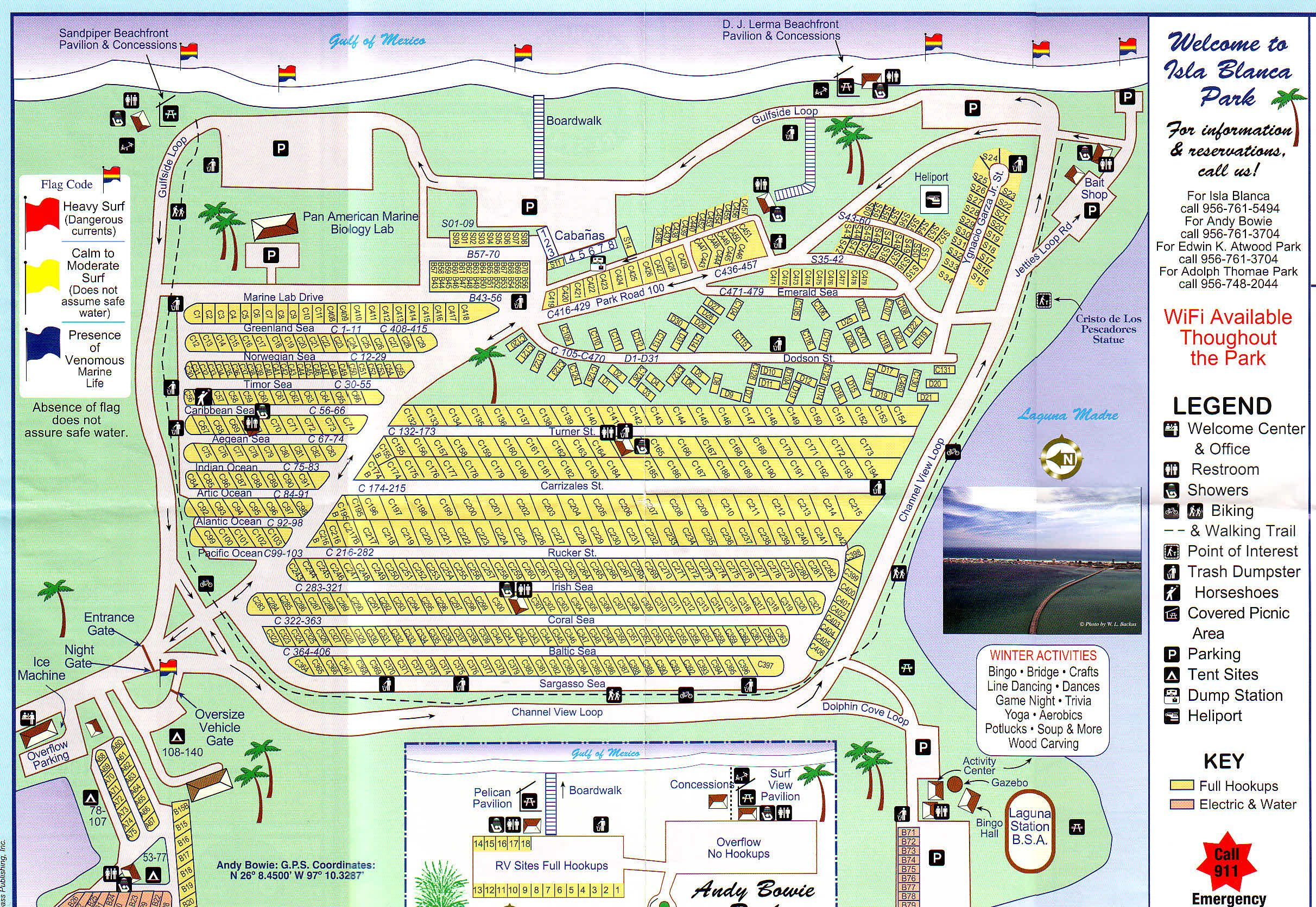 Rv Park South Padre Island Tx - Isla Blanca Rv Park Cameron County - Texas Rv Parks Map