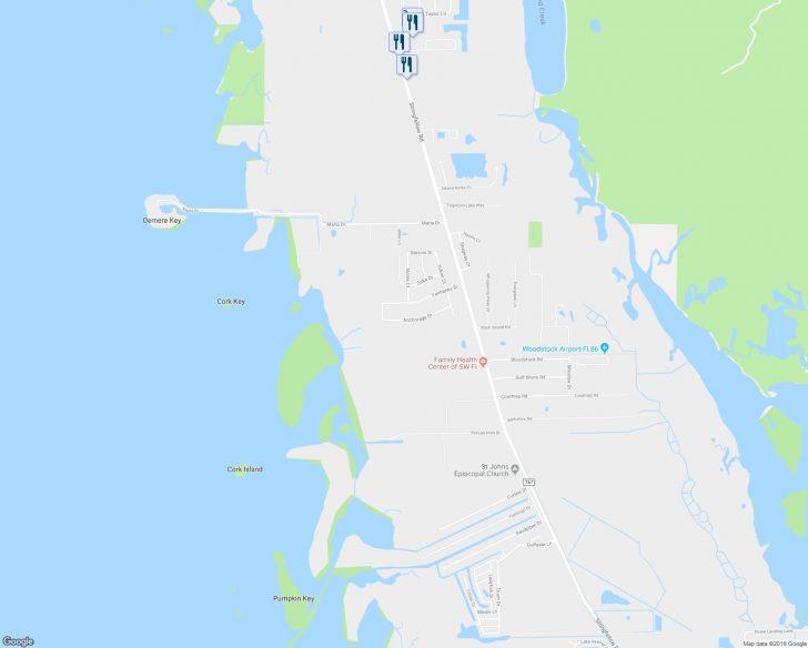 St James Florida Map