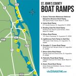 Saltwater & Freshwater Fishing In St. Augustine, Fl   Map Of Crescent Beach Florida