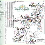 San Diego Balboa Park Map   Map Of Balboa Park San Diego California