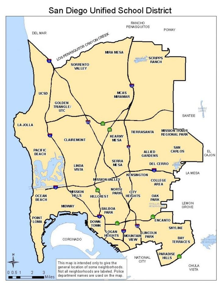 California School Districts Map
