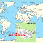 San Francisco Maps | California, U.s. | Maps Of San Francisco   Where Is San Francisco California On Map