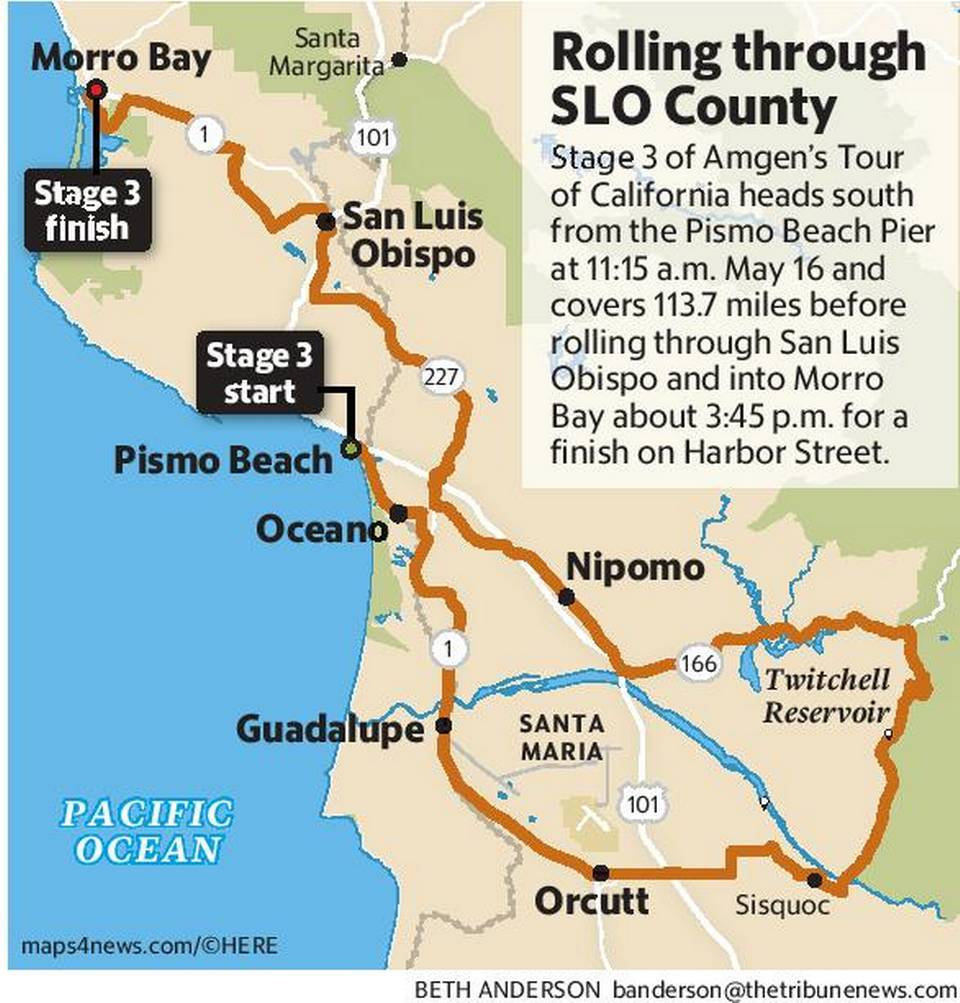 San Luis Obispo On California Map - Klipy - San Luis Obispo California Map