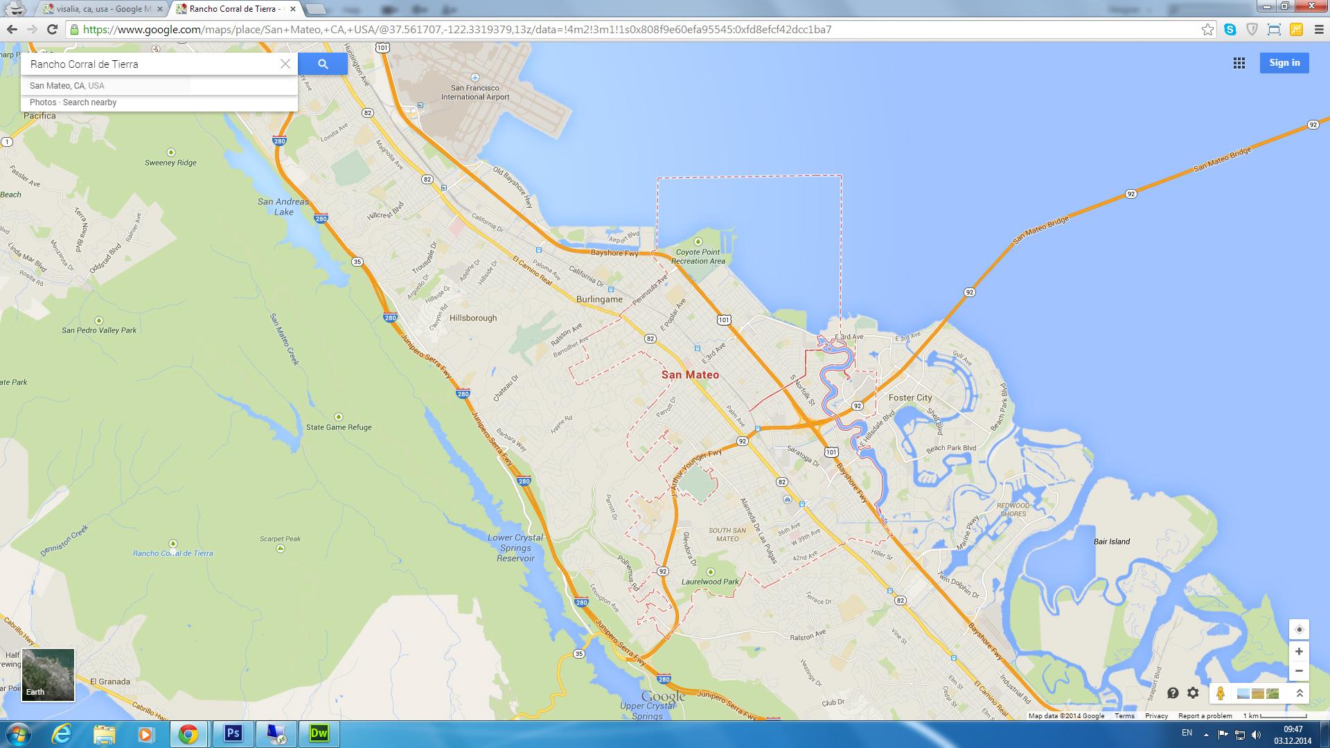 San Mateo Map California Us Detailed Of Map Map Of San Mateo - San Mateo California Map