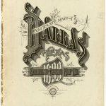 Sanborn Insurance Map – Texas – Dallas – 1899   Typography   Vintage – Map Insurance Texas