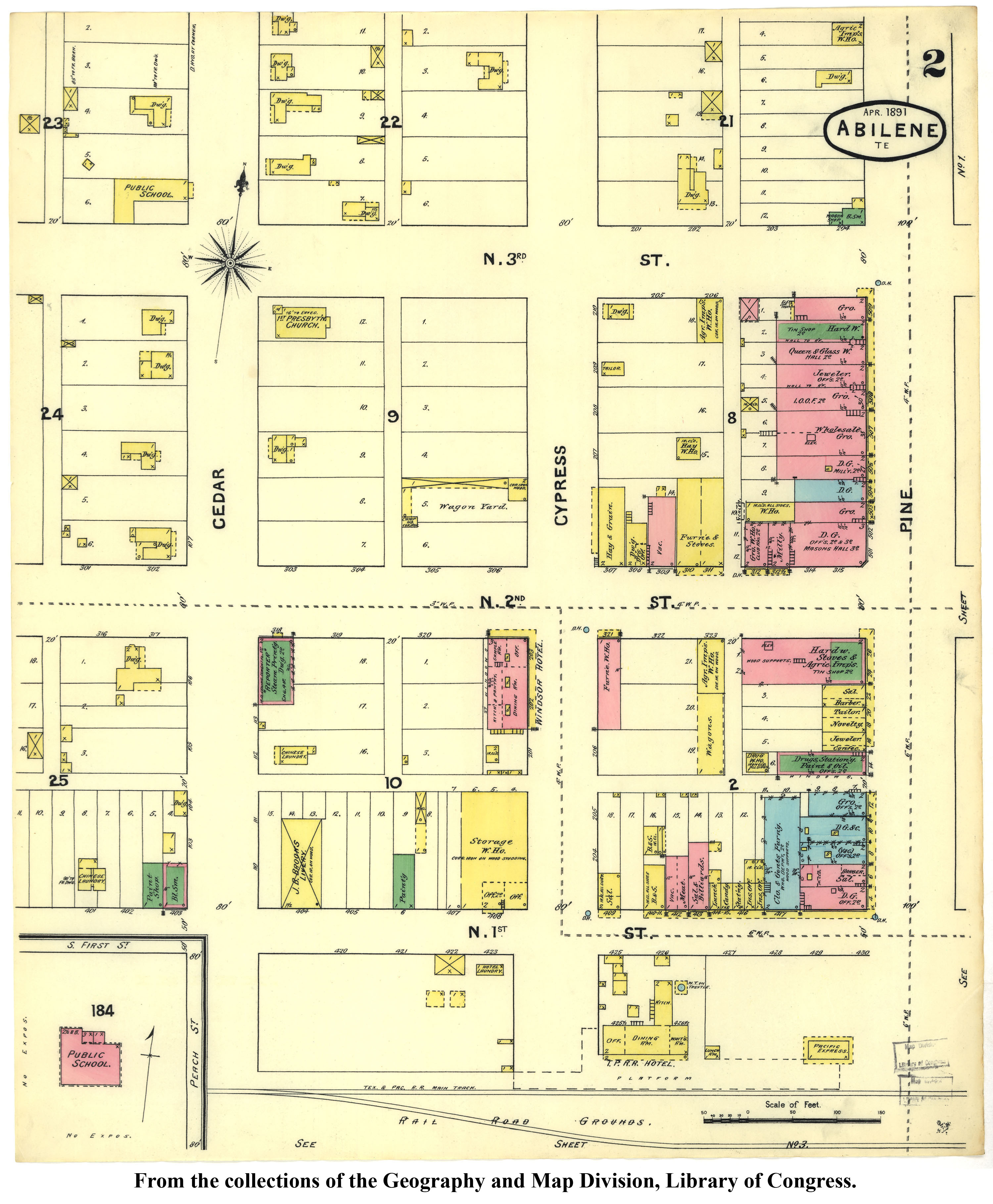 Sanborn Maps Of Texas - Perry-Castañeda Map Collection - Ut Library - Map Insurance Texas