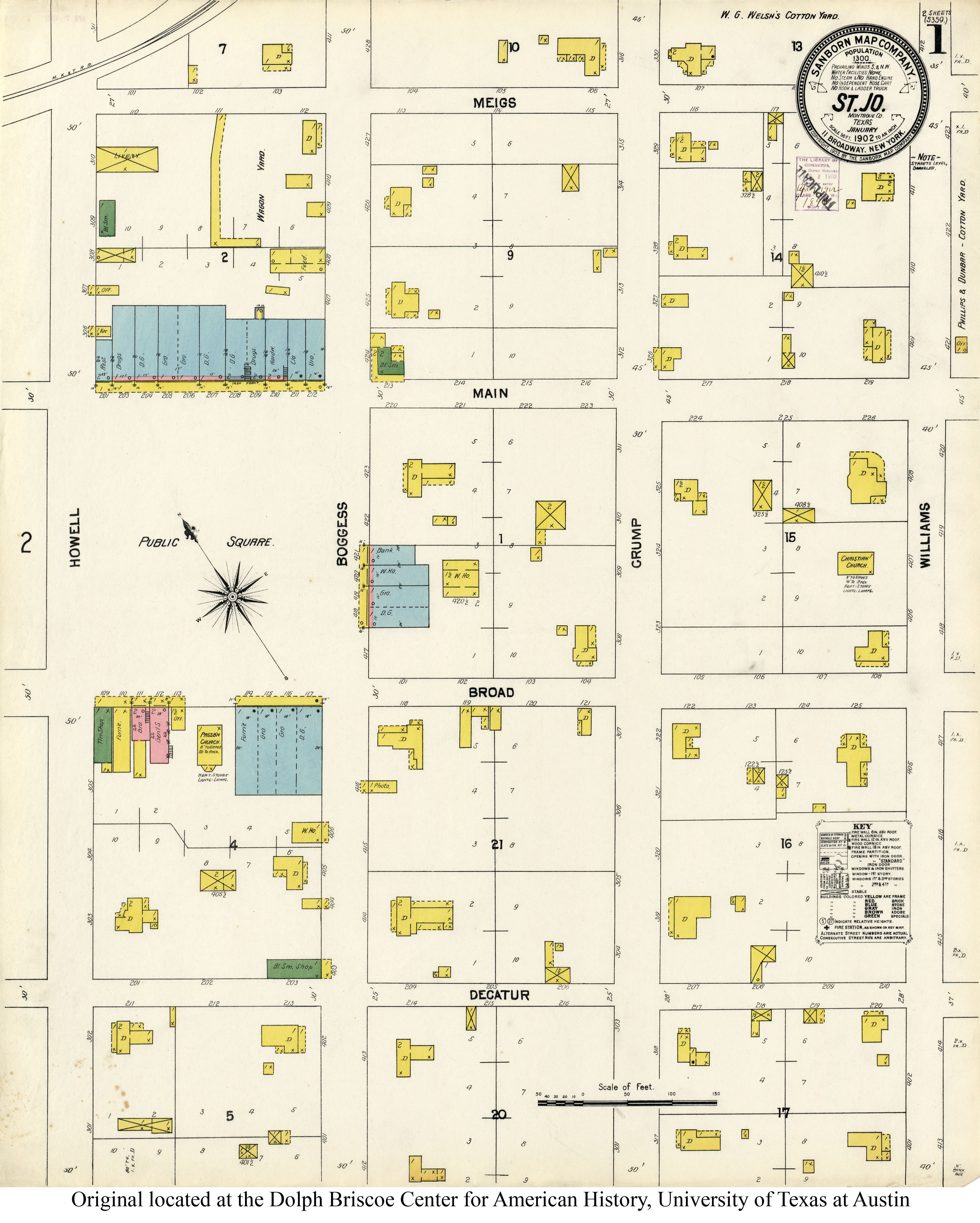 Sanborn Maps Of Texas - Perry-Castañeda Map Collection - Ut Library - Snyder Texas Map