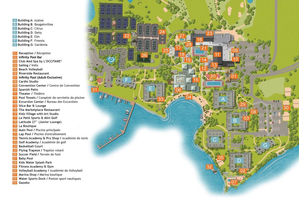 Sandpiper Bay- Florida / Usa | All-Inclusive Sports Holidays | Club Med - Club Med Florida Map