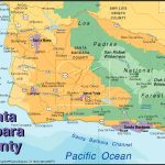 Santa Barbara California Map Google Maps California Santa Barbara – Map Of California Showing Santa Barbara