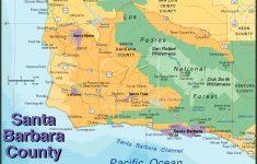 Santa Barbara California Map Google Maps California Santa Barbara – Map Of California Showing Santa Barbara
