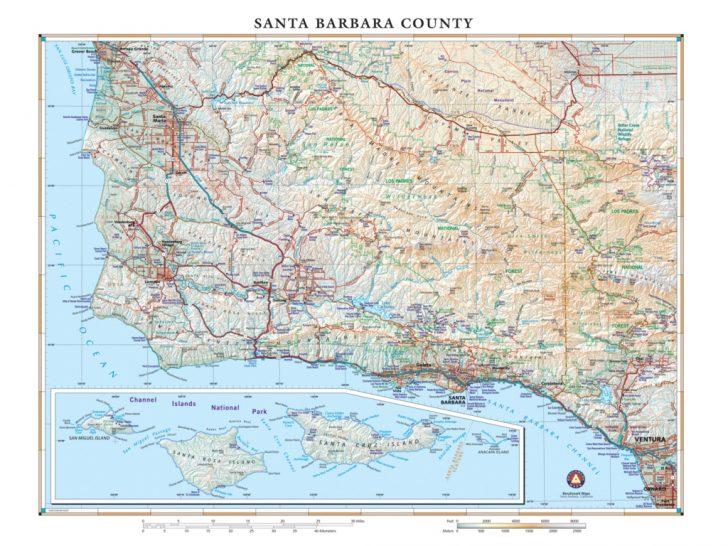 Northern California Wall Map