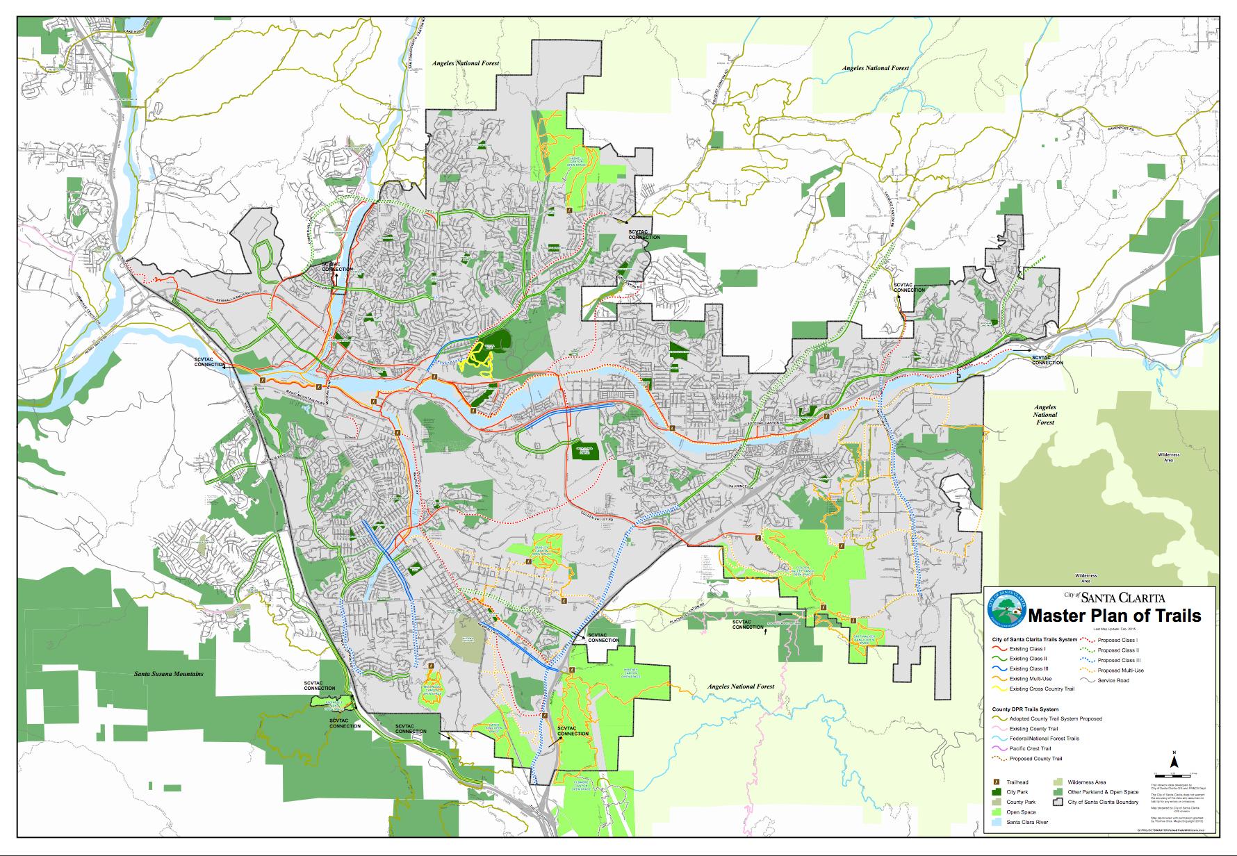 Santa Clarita California Map - Klipy - Valencia California Map