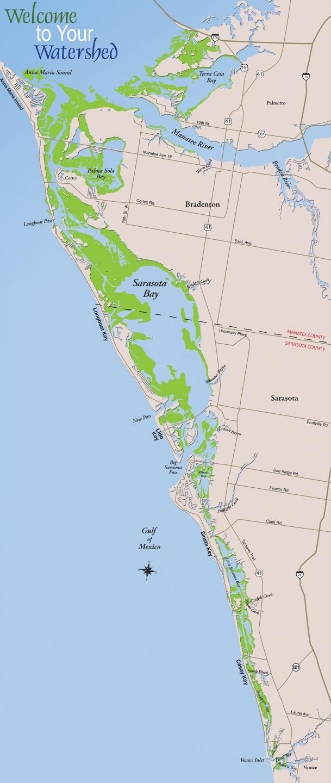 Casey Key Florida Map