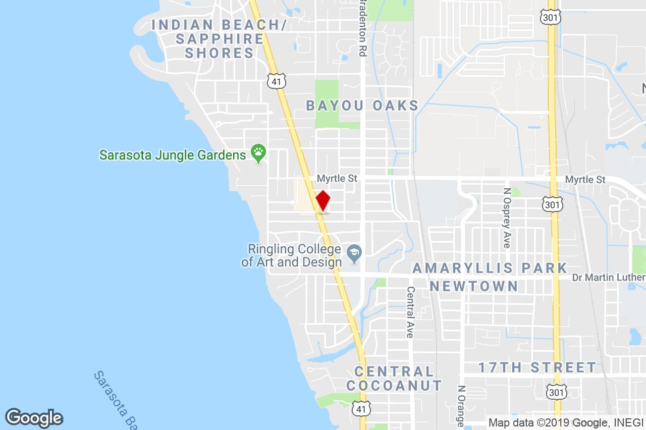 Sarasota Florida Map Google - Google Maps Sarasota Florida