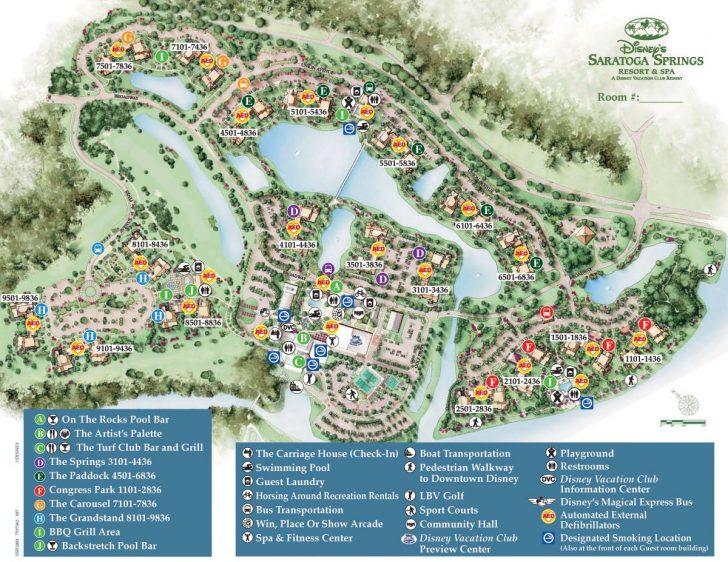 Disney Resorts Florida Map