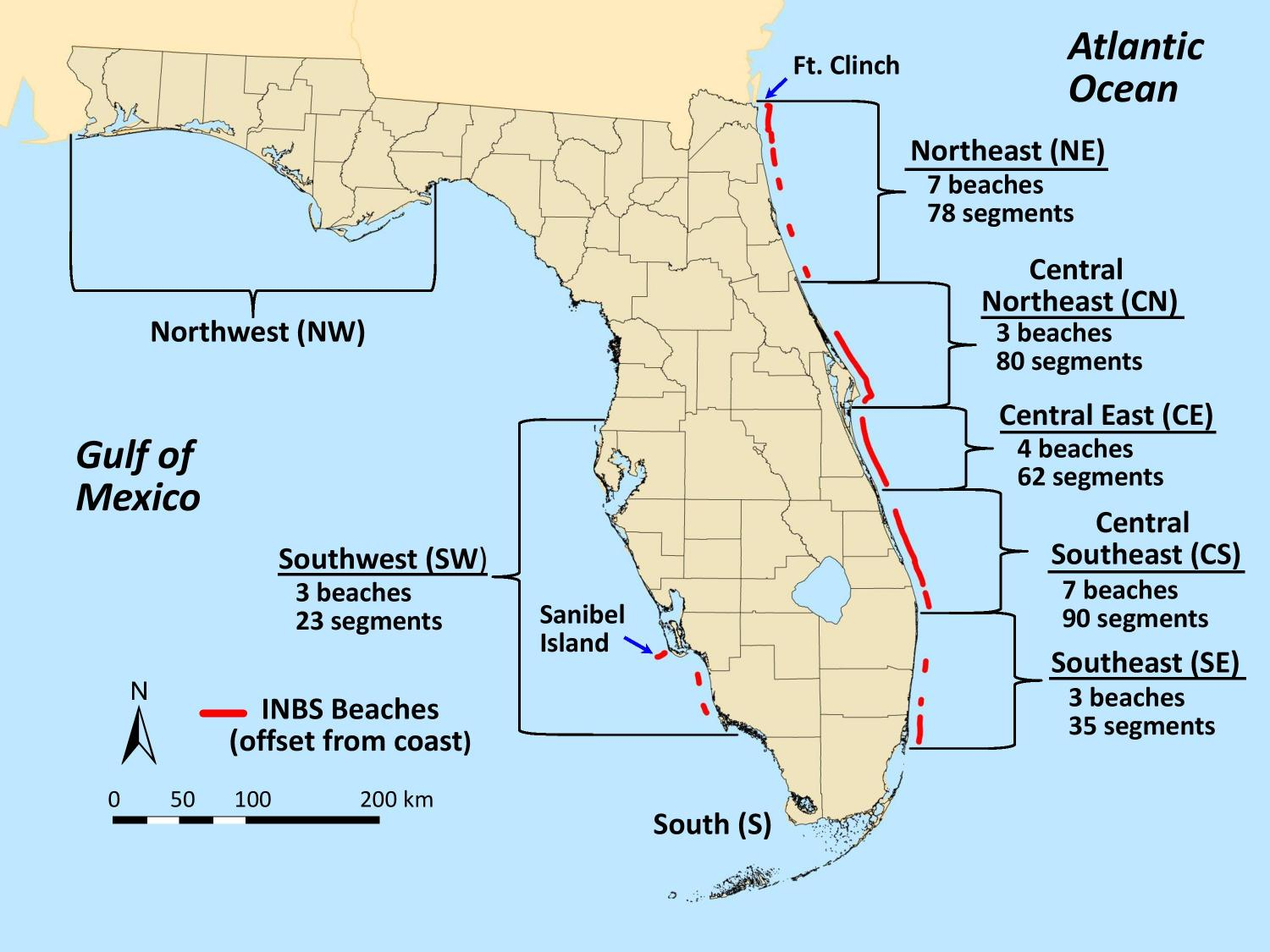 Satellites Show Florida Beaches Becoming Darker, And That's Good For - Florida Beach Bacteria Map 2018