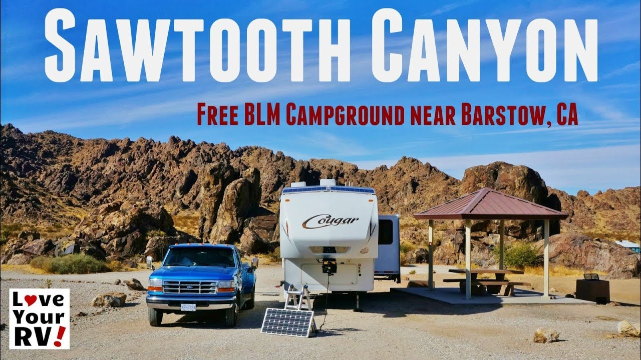 Sawtooth Canyon Blm Campground California - Youtube - Blm Dispersed Camping California Map