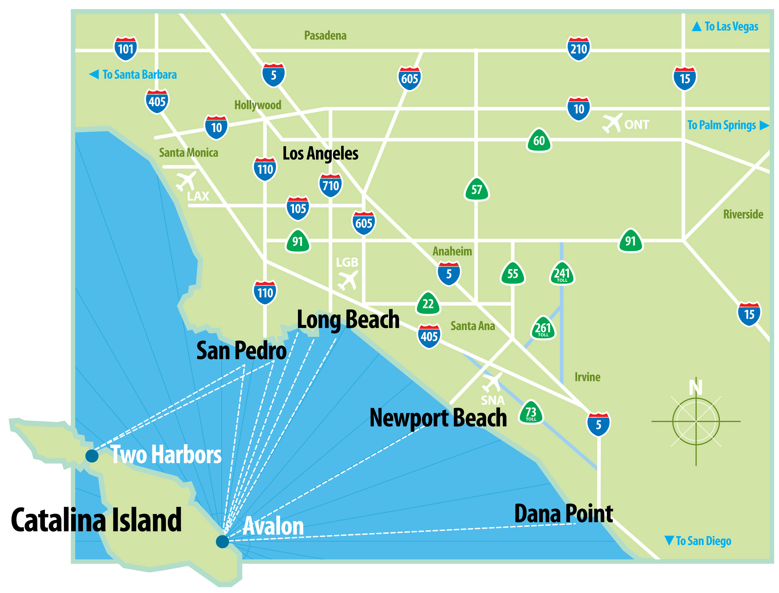 Scal Map Map Road With Map Of Southern California Beaches - Klipy - Off Road Maps Southern California