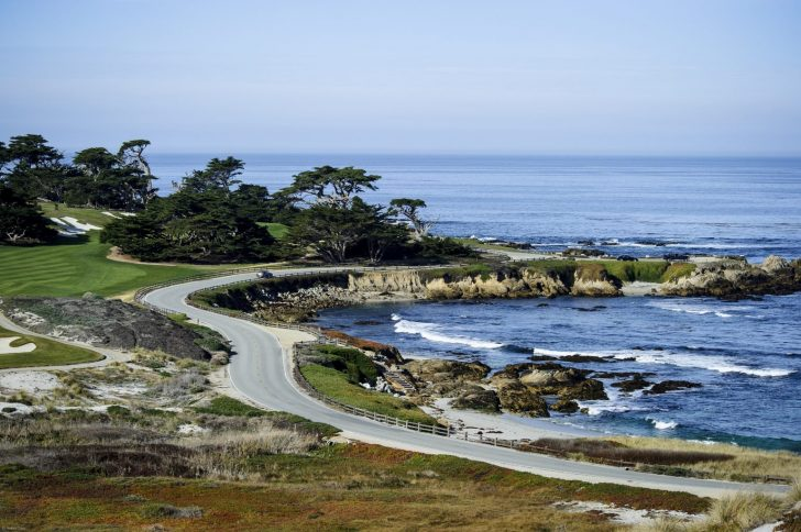 17 Mile Drive California Map