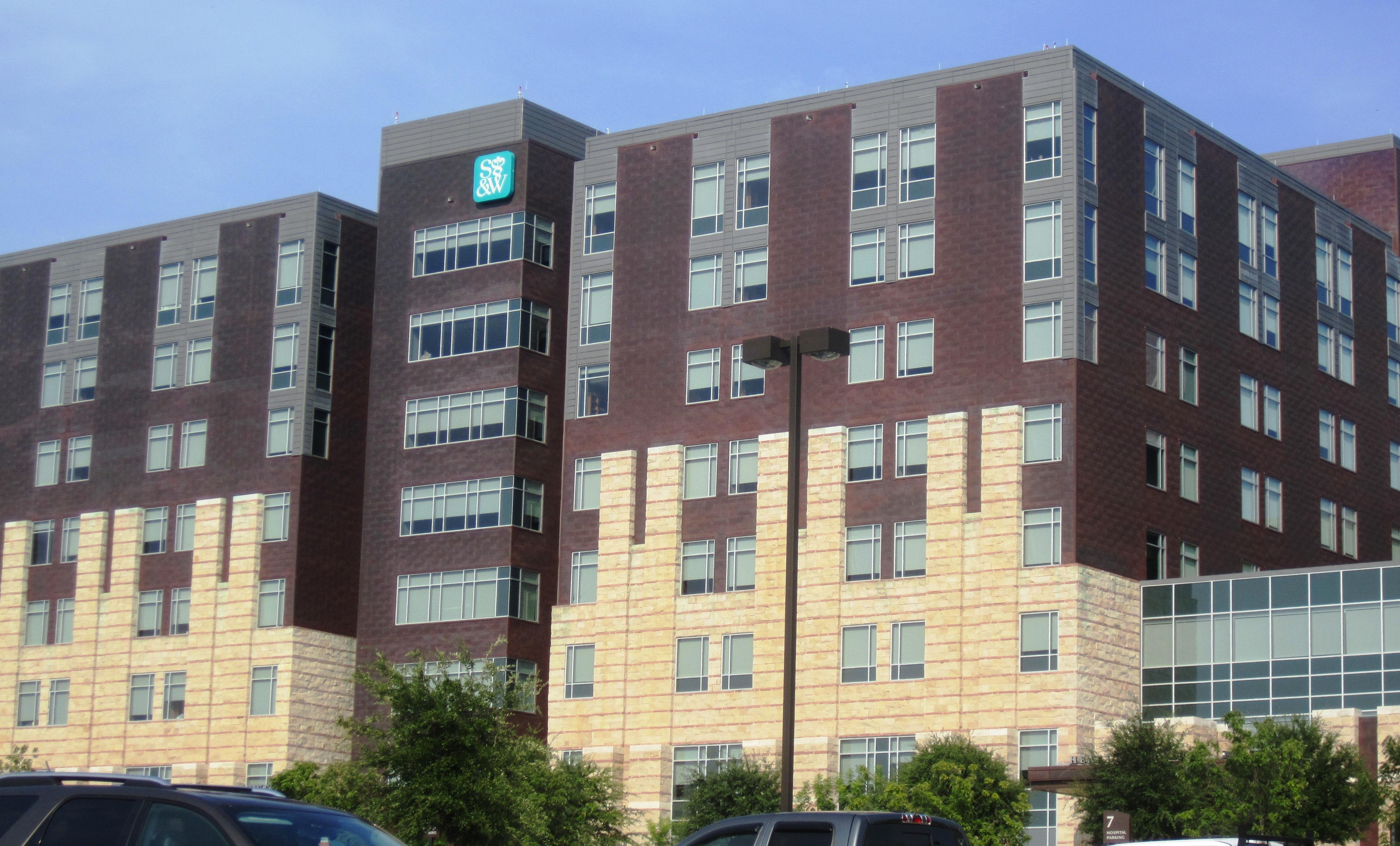 Scott & White Medical Center - Wikipedia - Baylor Hospital Dallas Texas Map