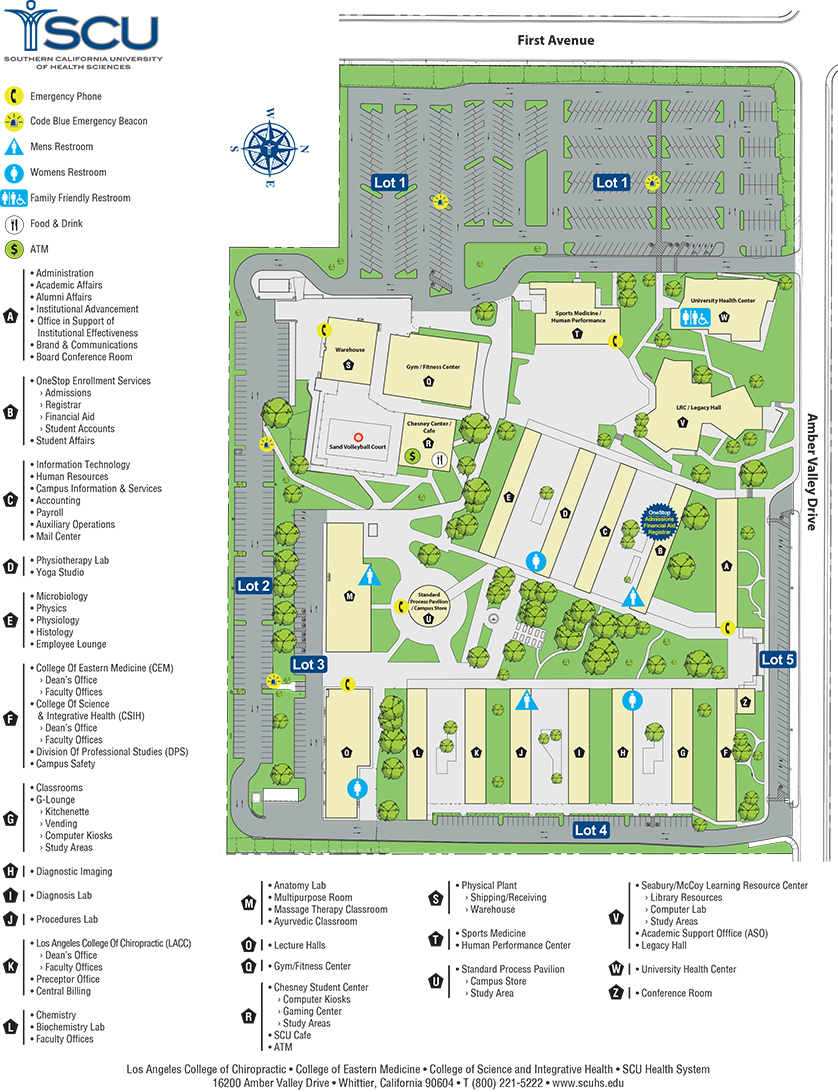 Scu Campus Map Google Maps California California University Of - California University Of Pa Campus Map